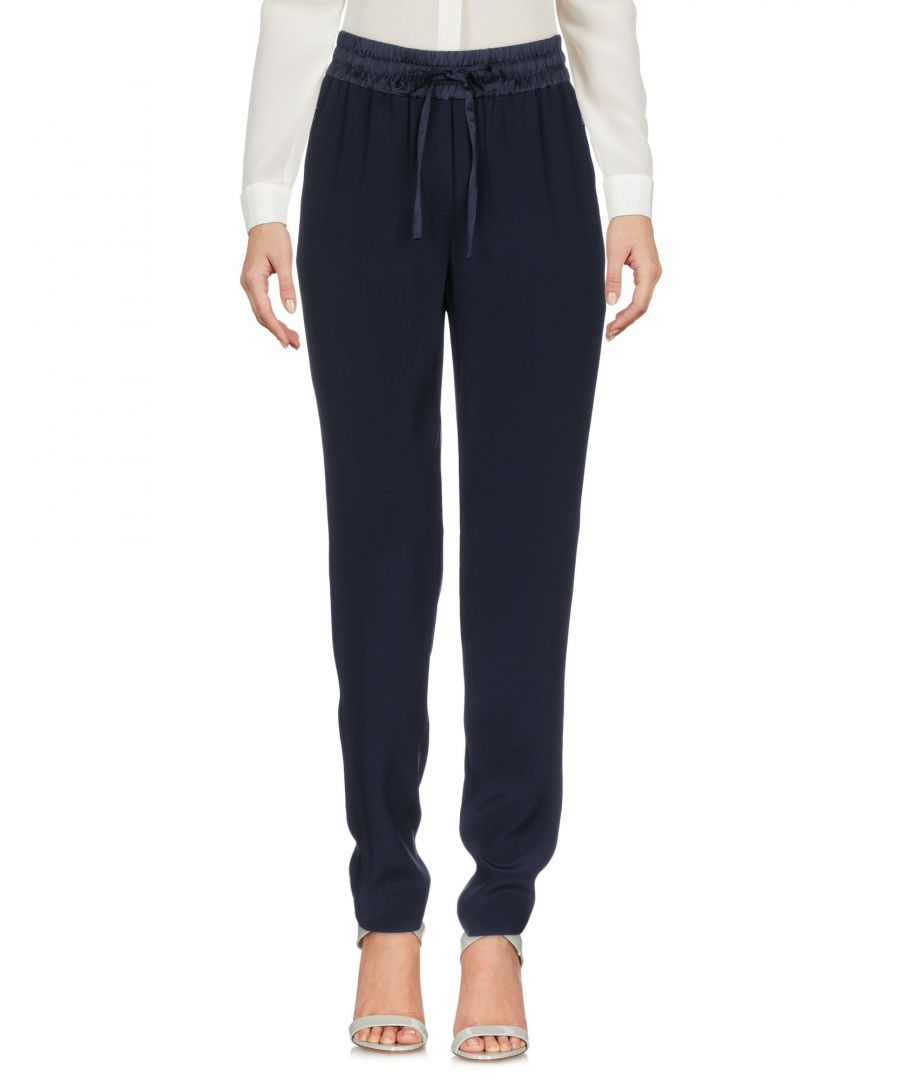 Image for DKNY Dark Blue Drawstring Regular Fit Trousers