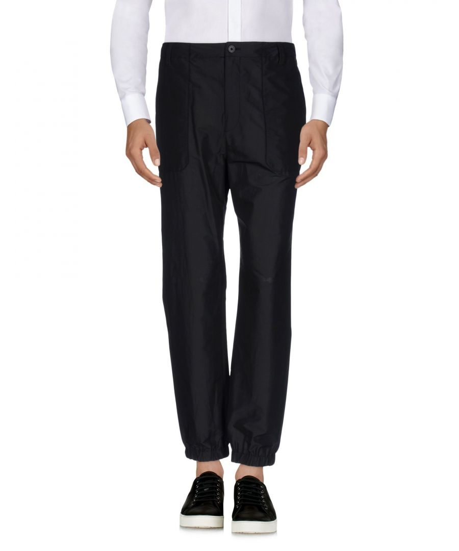 Image for Helmut Lang Black Cotton Trousers