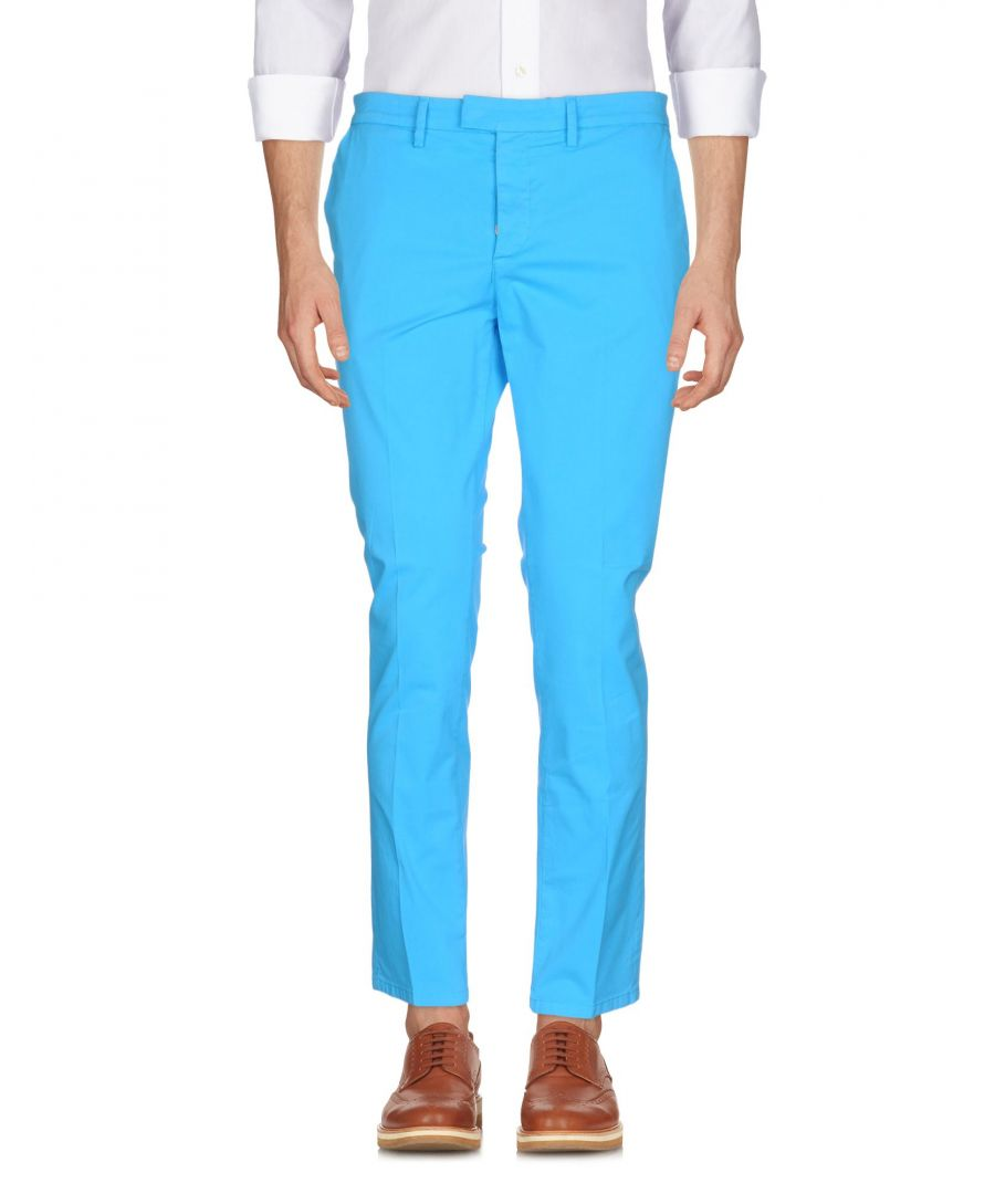Image for Haikure Azure Cotton Tapered Leg Chino Trousers