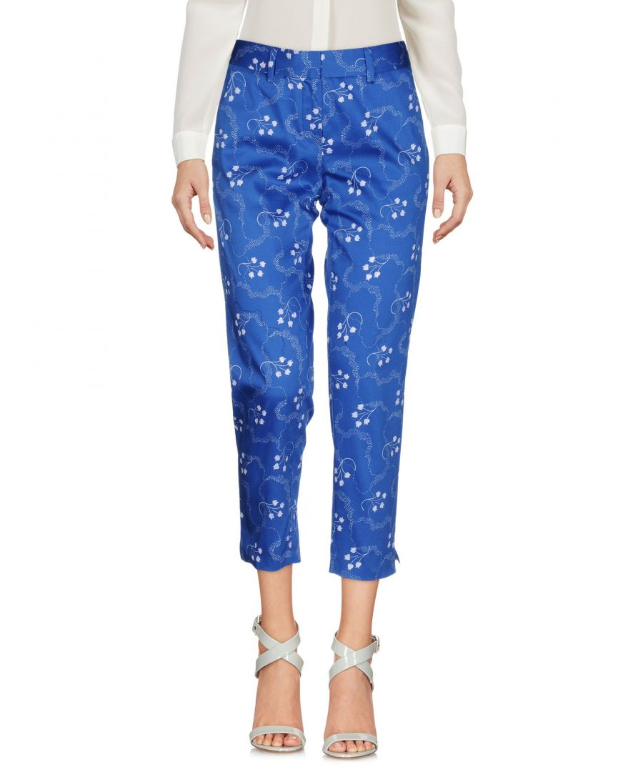 Image for Rary Azure Cotton Trousers
