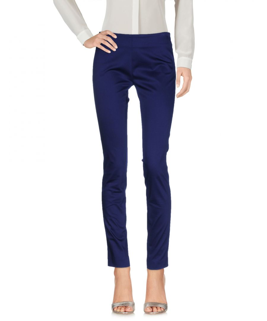 Image for Love Moschino Black, Dark blue Cotton Casual trousers