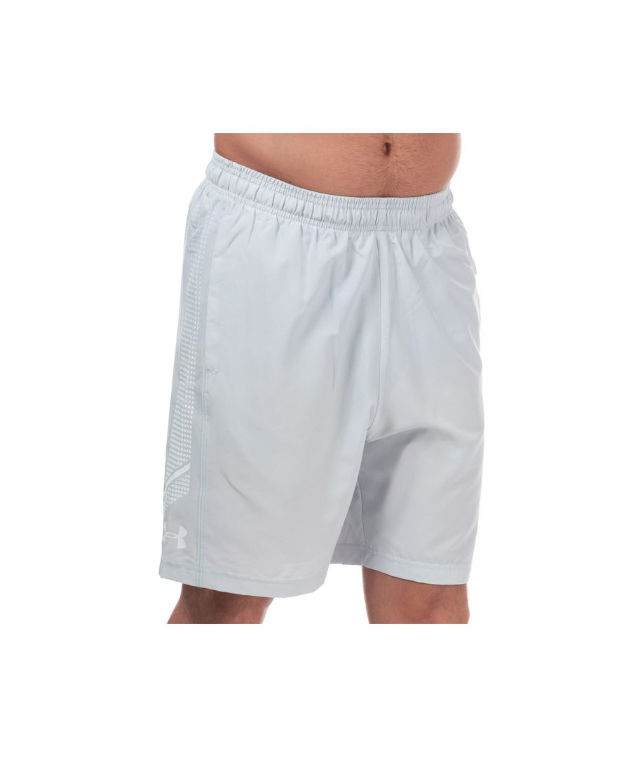 Image for Men's Under Armour Woven Graphic Shorts in Grey