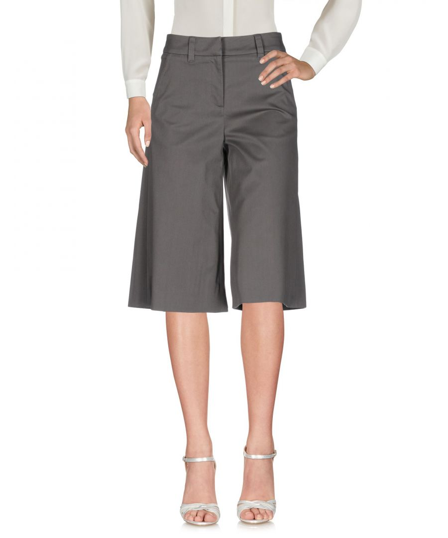 Image for M Missoni Lead Cotton Wide Leg Cropped Trousers