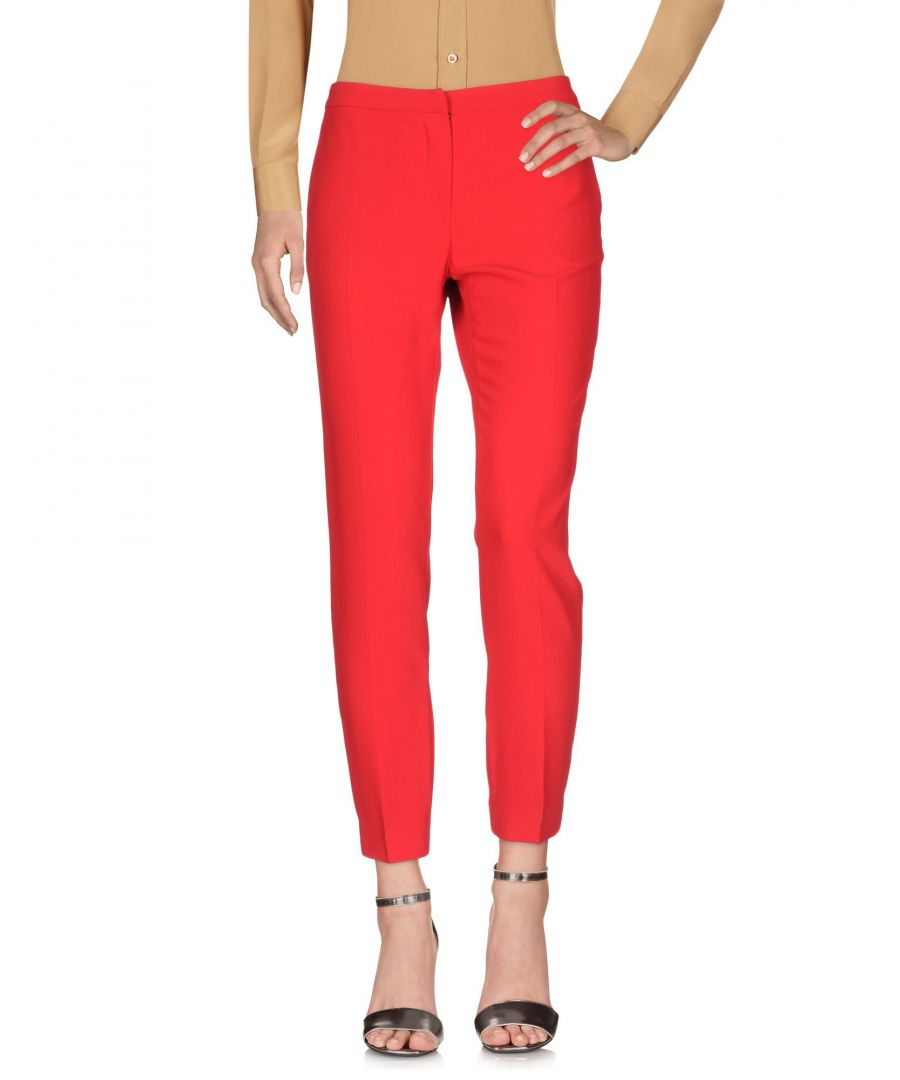 Image for Ermanno Di Ermanno Scervino Red Tailored Trousers