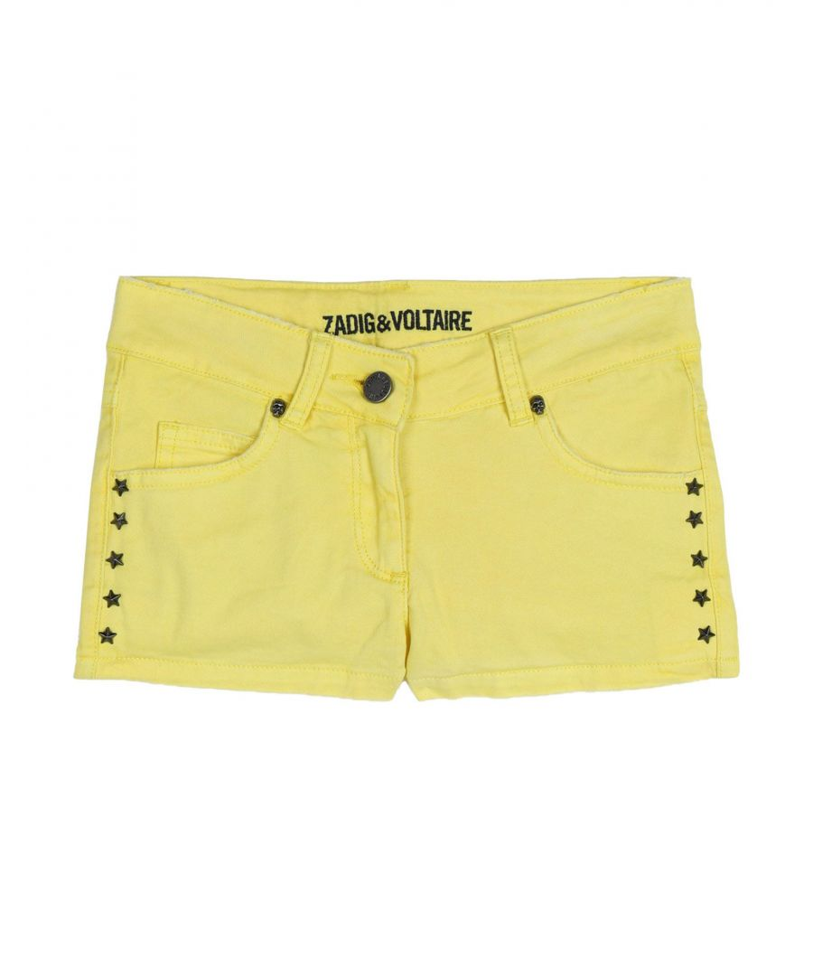 Image for Zadig & Voltaire Yellow Girl Cotton Trousers
