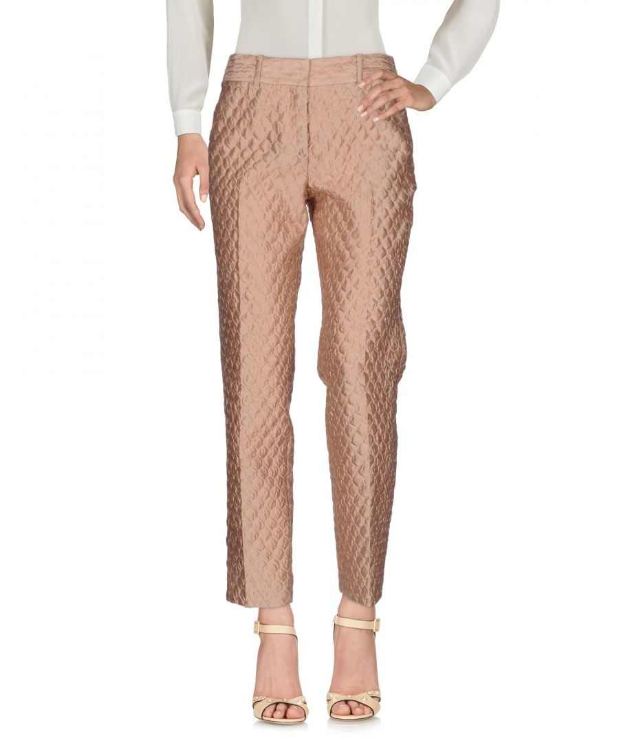 Image for TROUSERS Ermanno Scervino Sand Woman Polyester