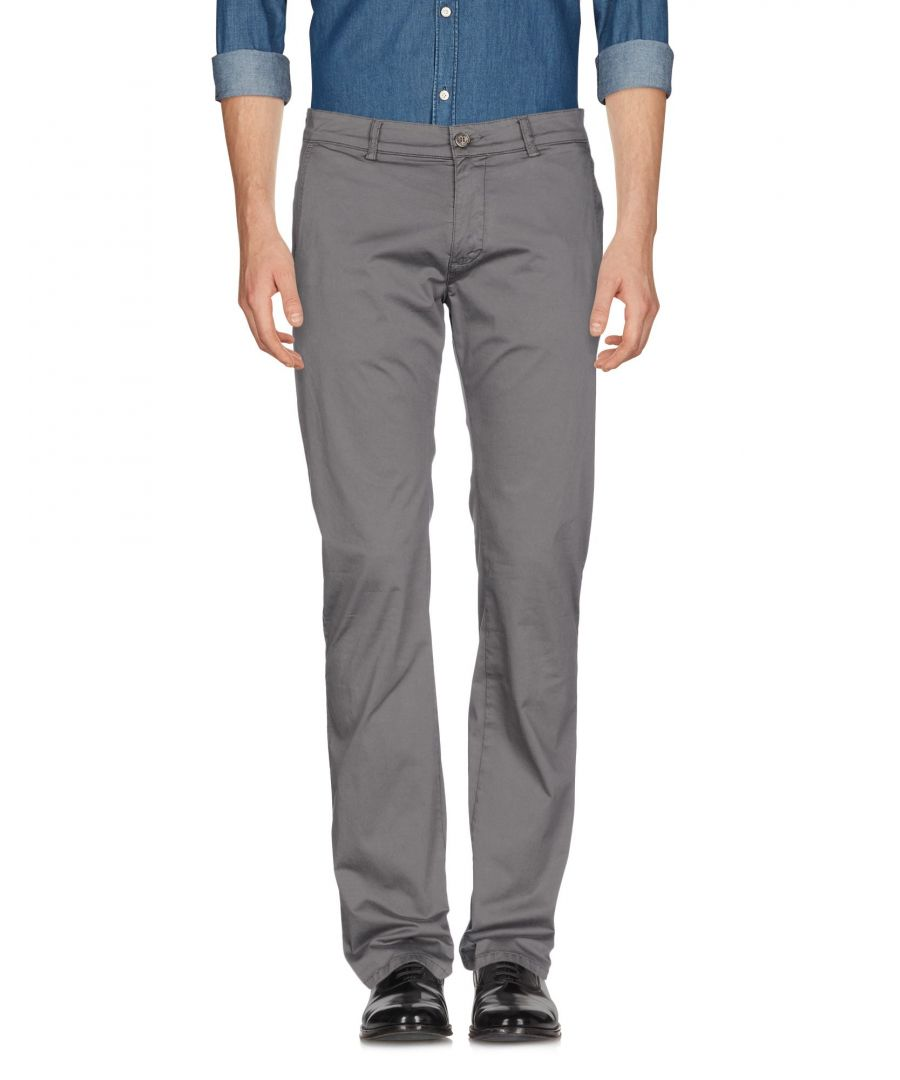 Image for Versace Collection Grey Cotton Trousers