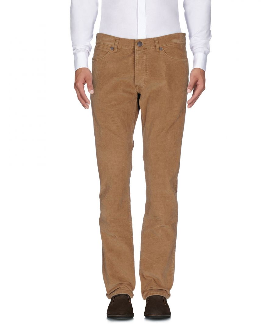 Image for Wrangler Brown Cotton Trousers
