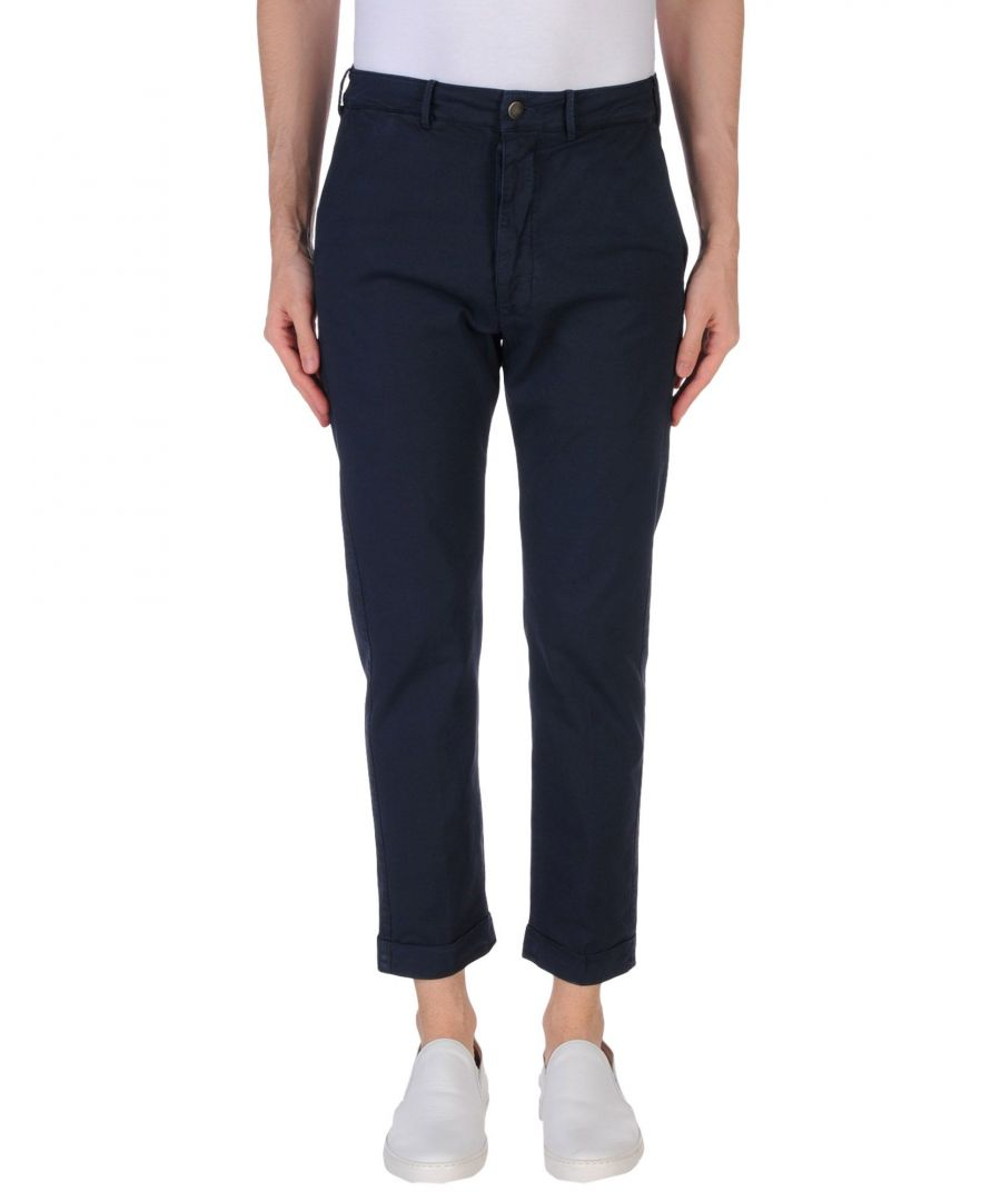 Image for TROUSERS (+) People Dark blue Man Cotton