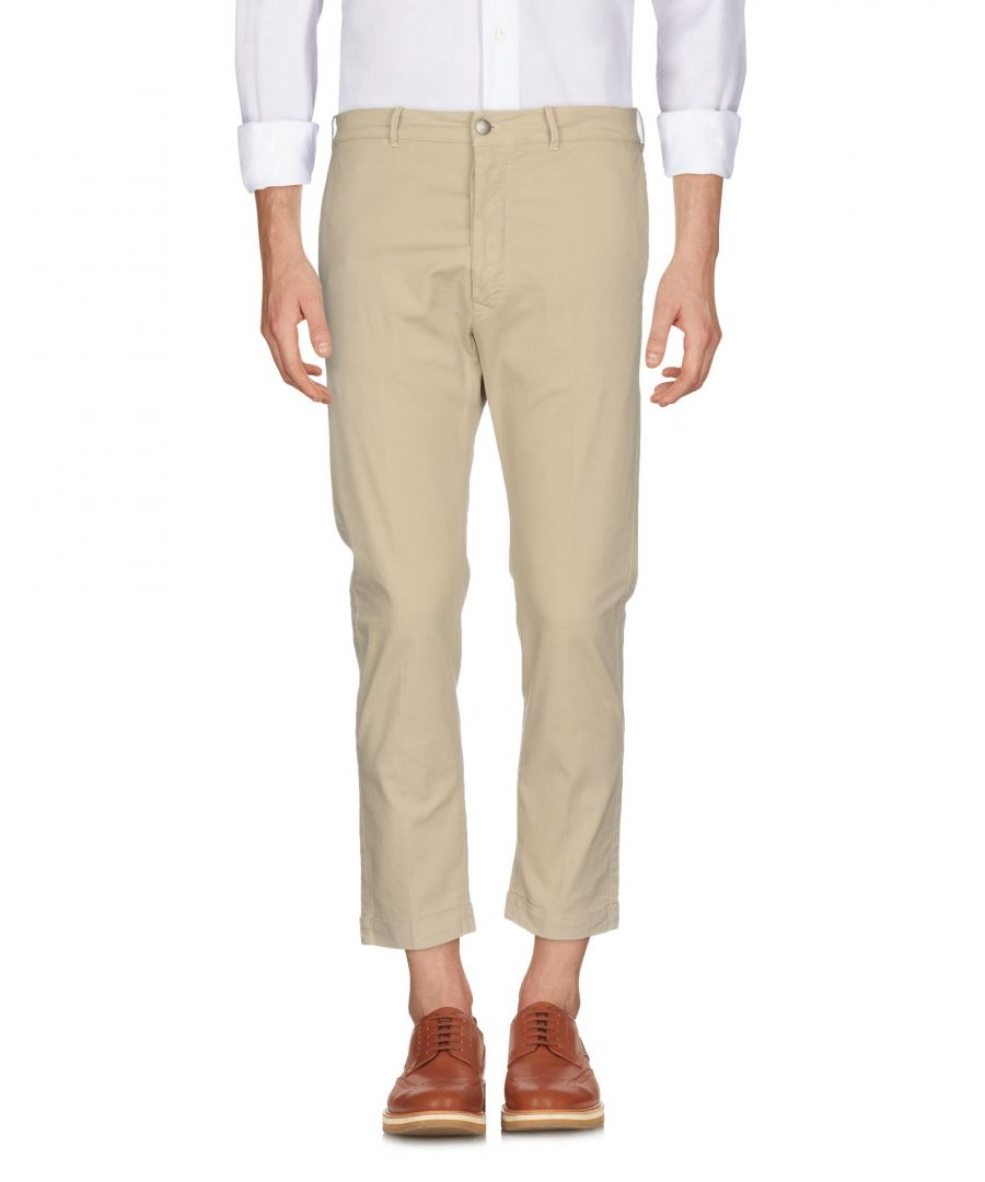 Image for TROUSERS (+) People Beige Man Cotton