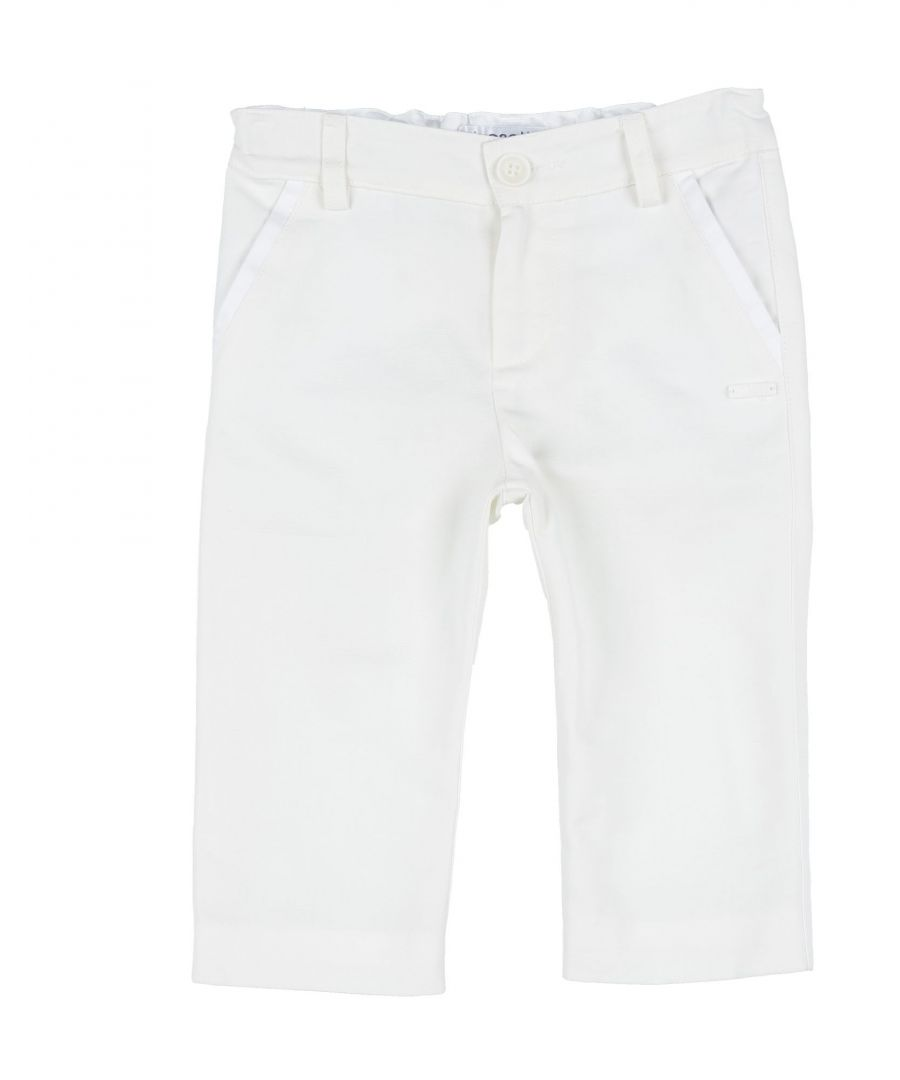 Image for Simonetta Tiny Girl Casual trousers Ivory Cotton