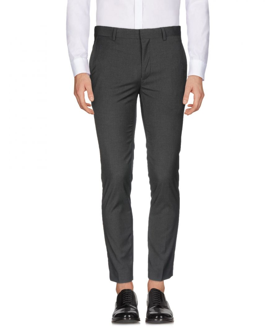 Image for Only & Sons Steel Grey Regular Fit Tailored Trousers
