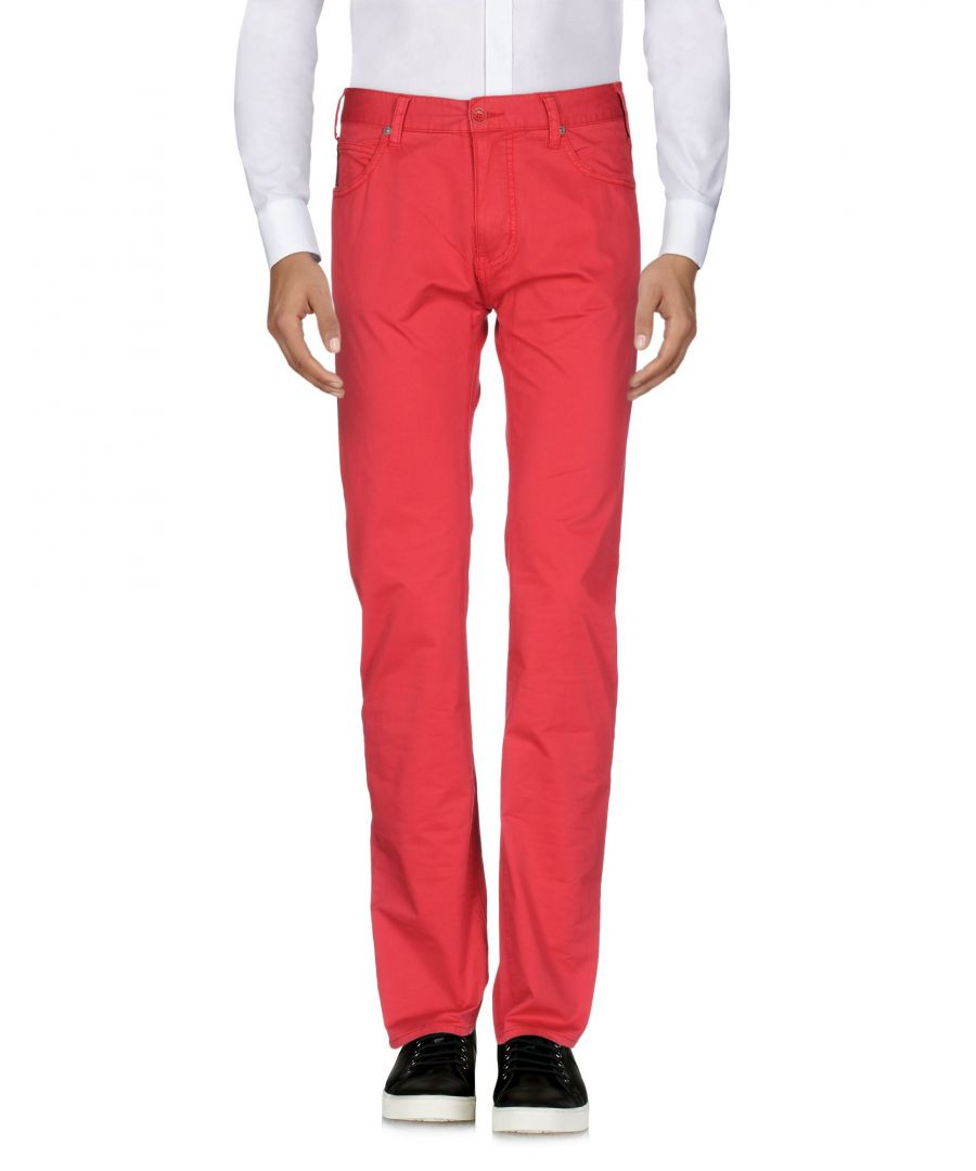 Image for Armani Jeans Red Cotton Casual trousers