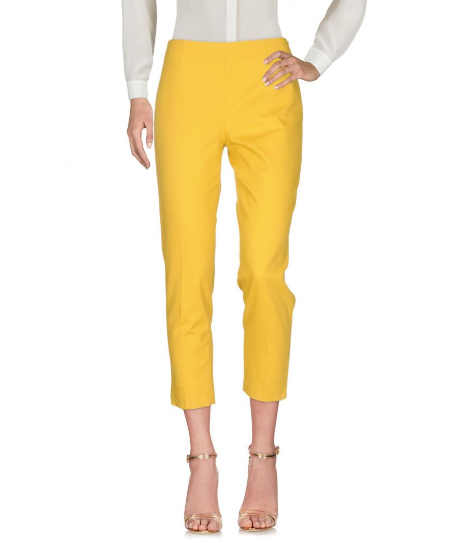 Image for True Royal Ocher Cotton 3/4-length trousers