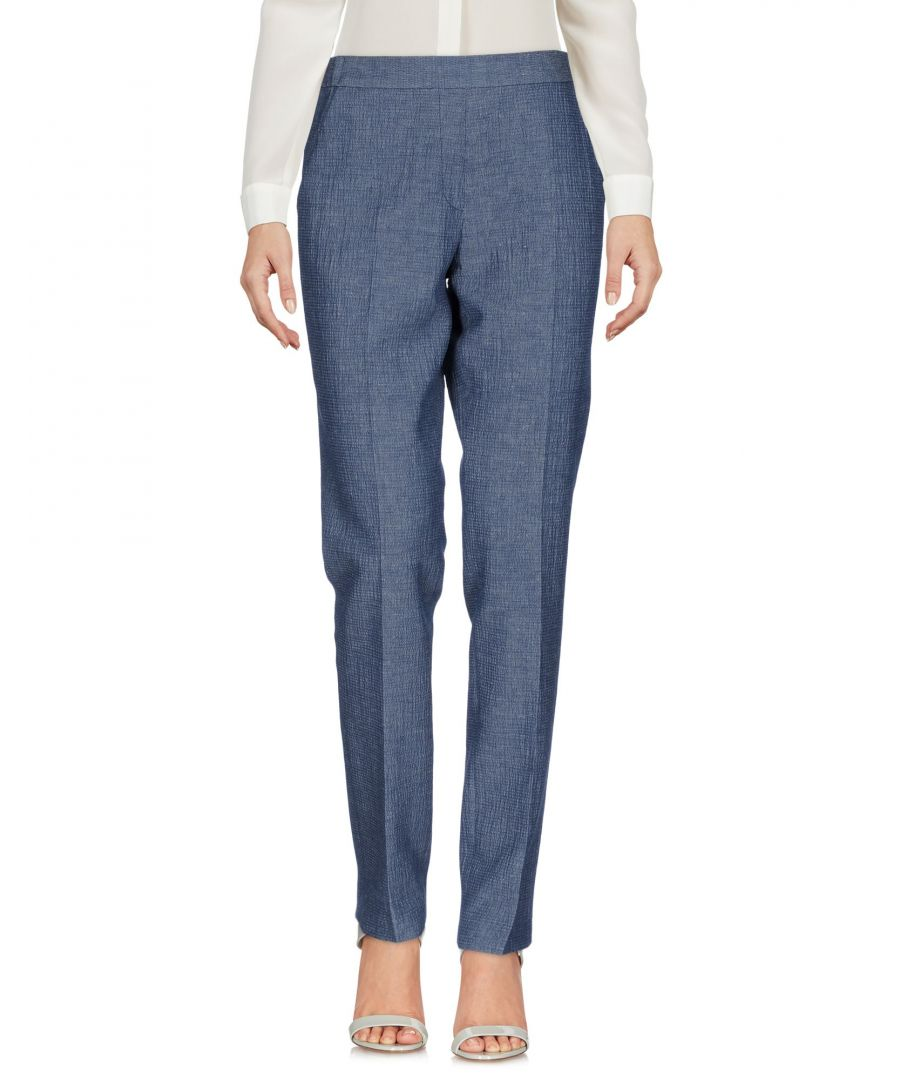 Image for Tonello Blue Linen Trousers