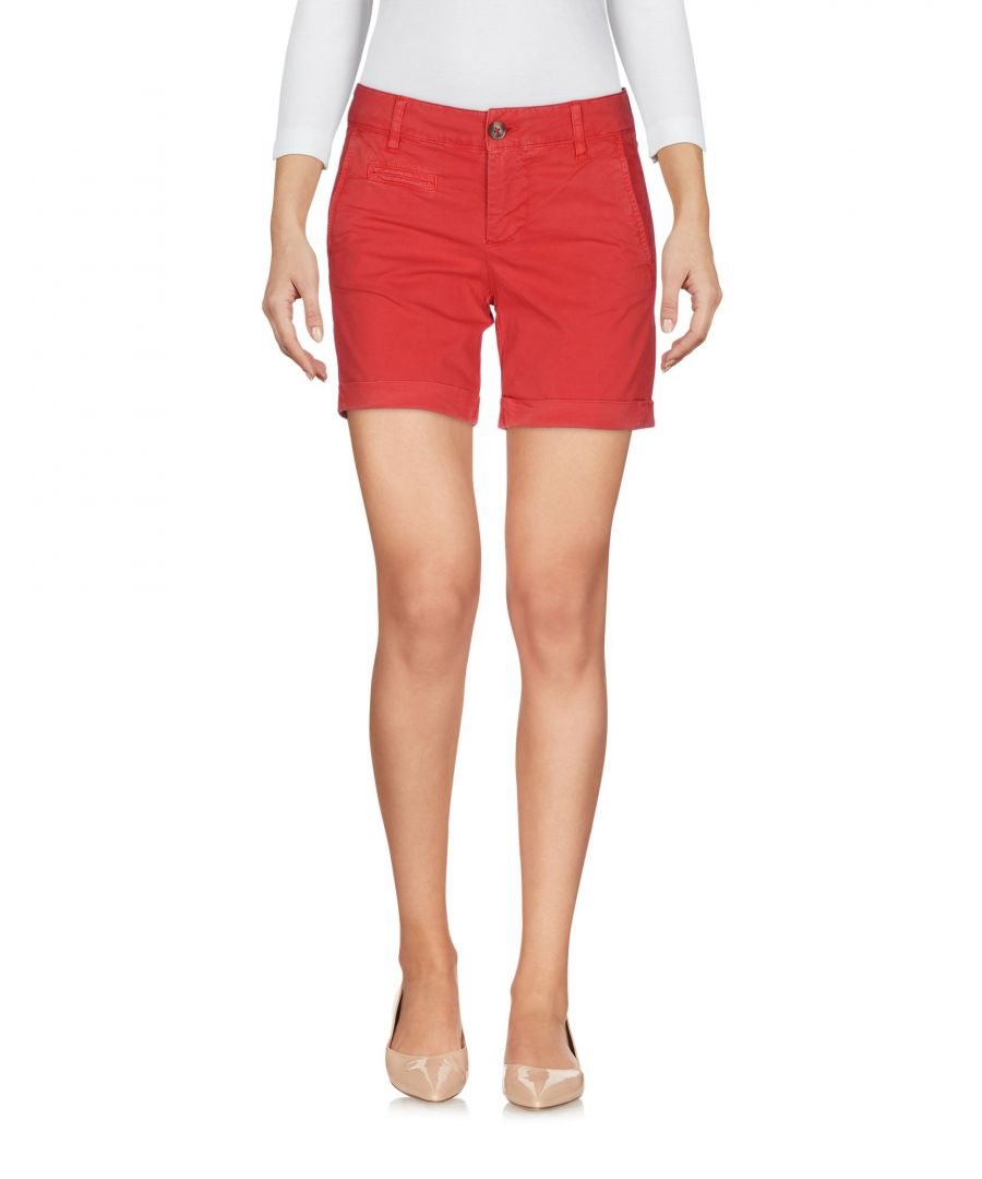 Image for Blauer Red Cotton Shorts