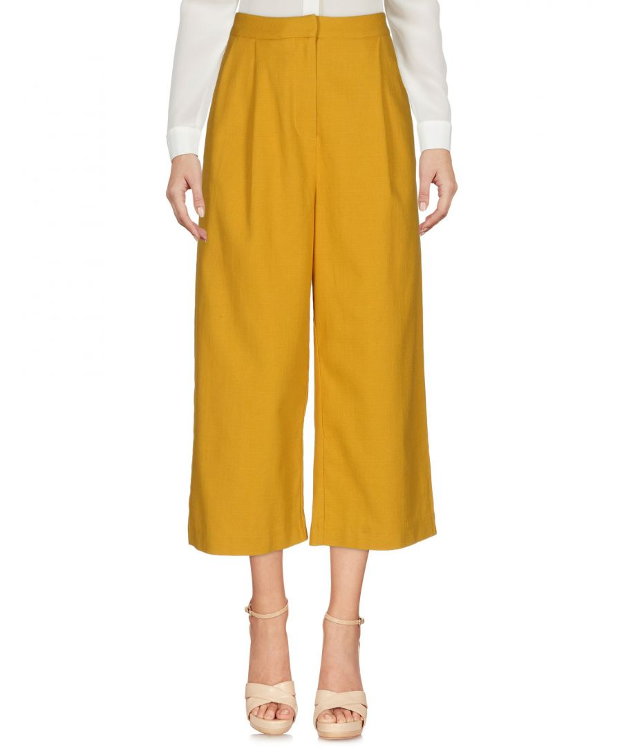 Image for TROUSERS Ty-Lr Ocher Woman Cotton