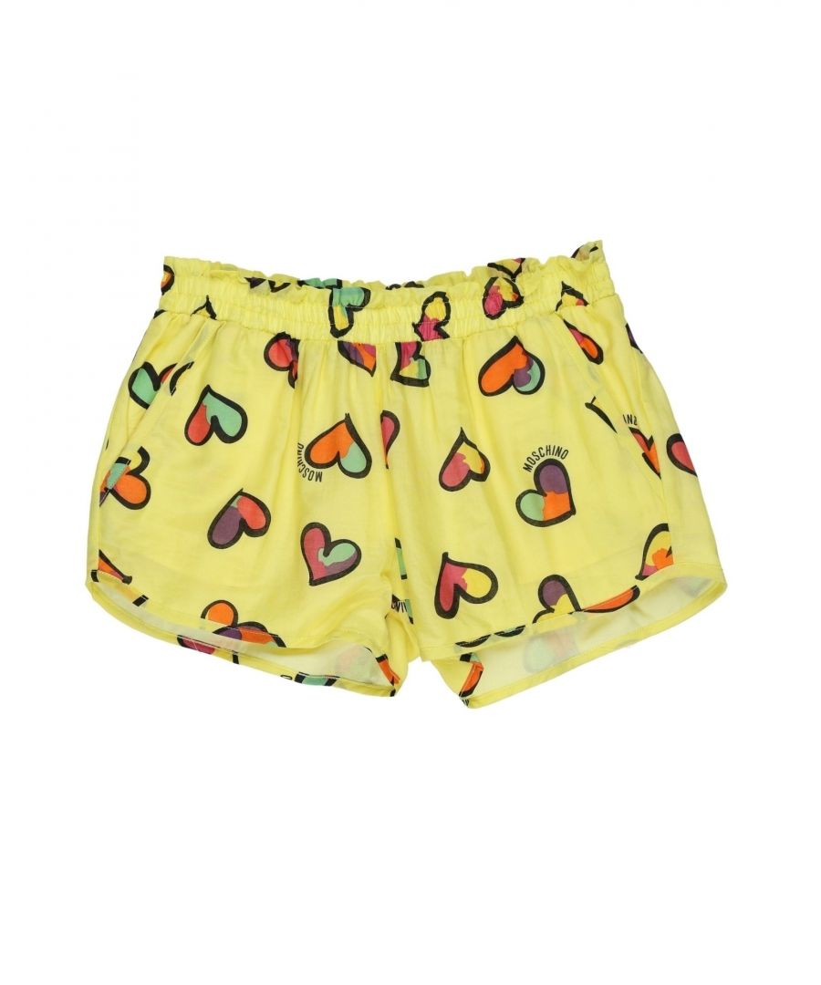 Image for TROUSERS Moschino Yellow Girl Cotton