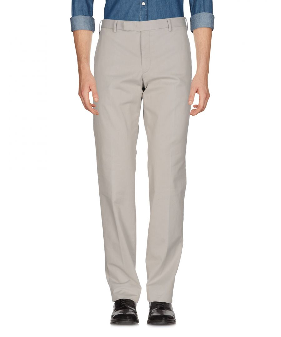 Image for Armani Collezioni Light Grey Cotton Trousers