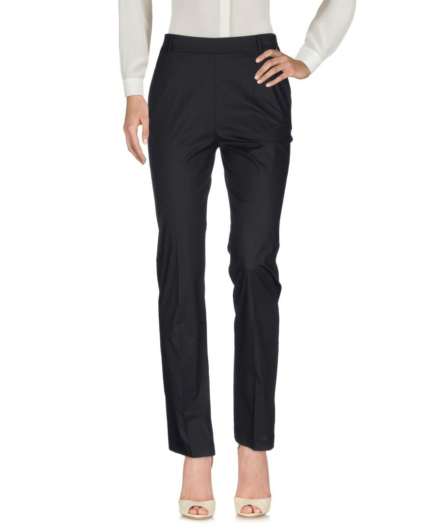 Image for Twinset Black Cotton Trousers