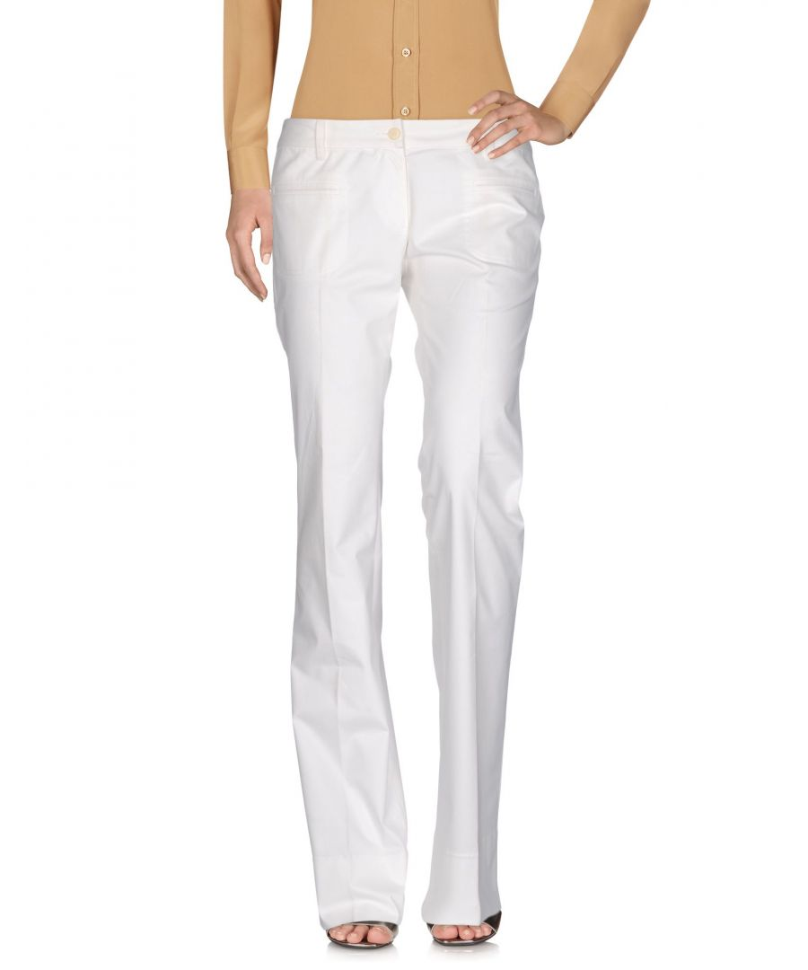 Image for Bui De Barbara Bui White Cotton Trousers