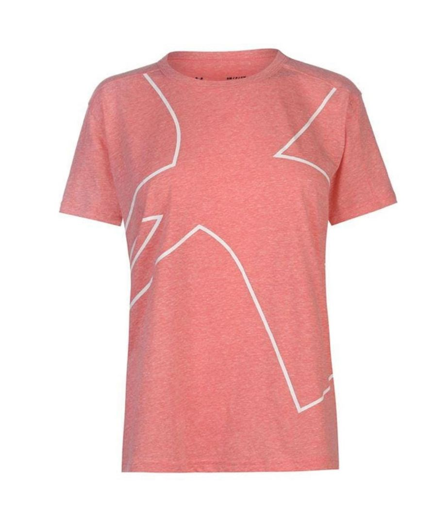 Image for Under Armour Triblend Graphic Womens T-Shirt Pink