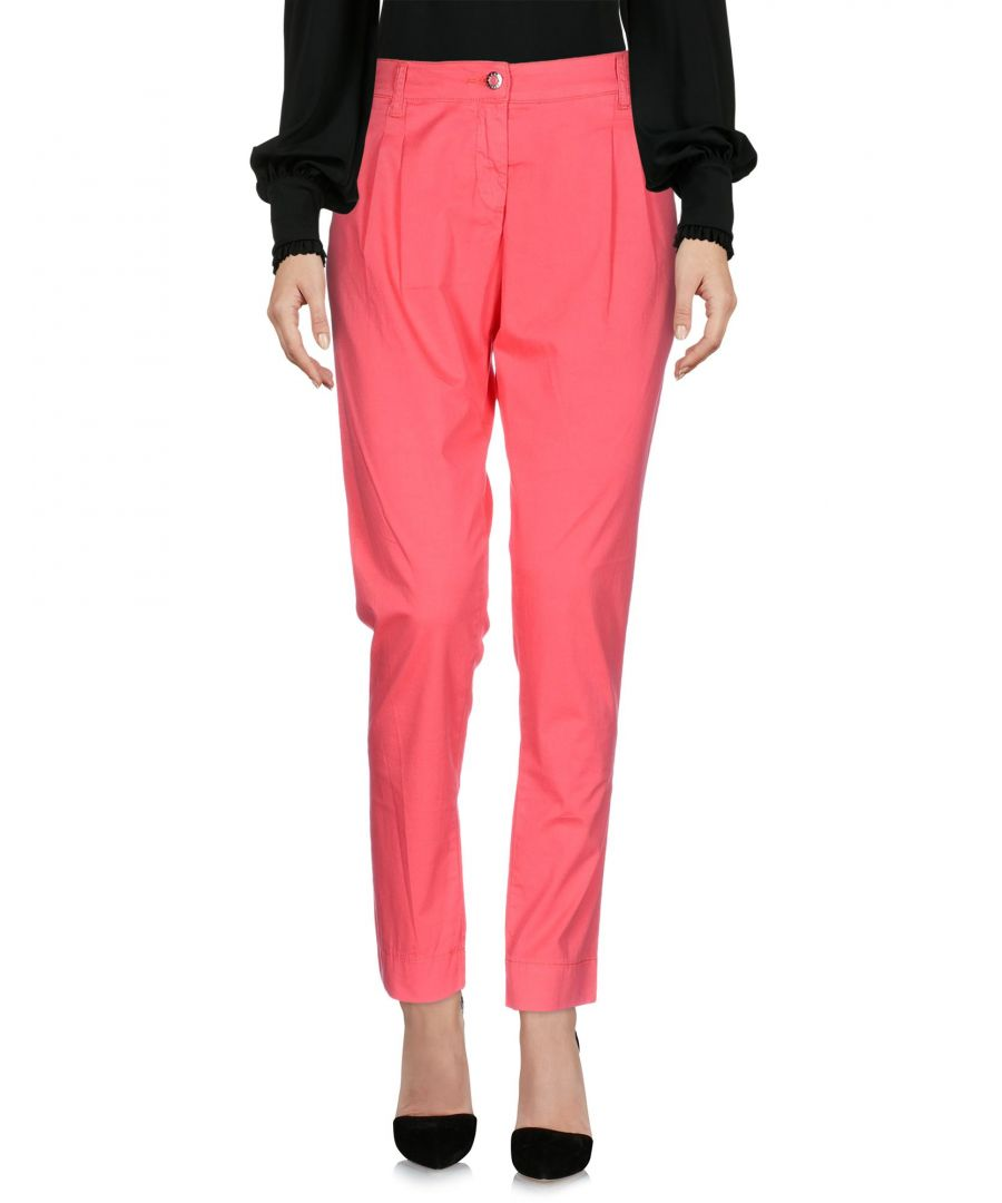Image for Armani Jeans Coral Cotton Trousers