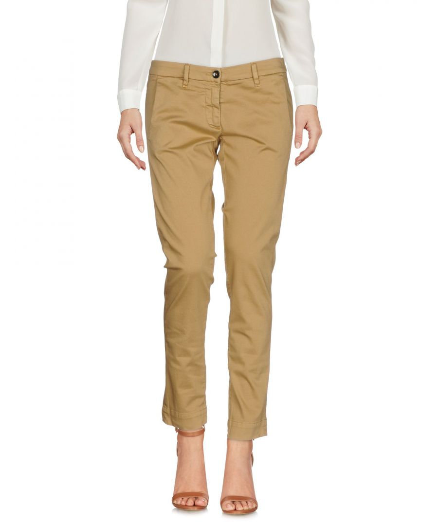 Image for Nine:Inthe:Morning Beige Cotton Casual trousers