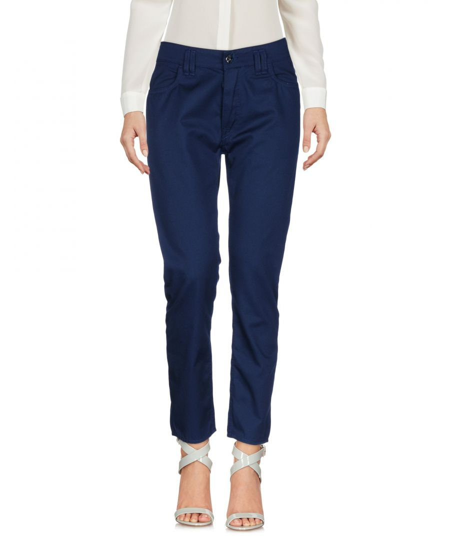 Image for Cycle Dark Blue Tapered Leg Chino Trousers