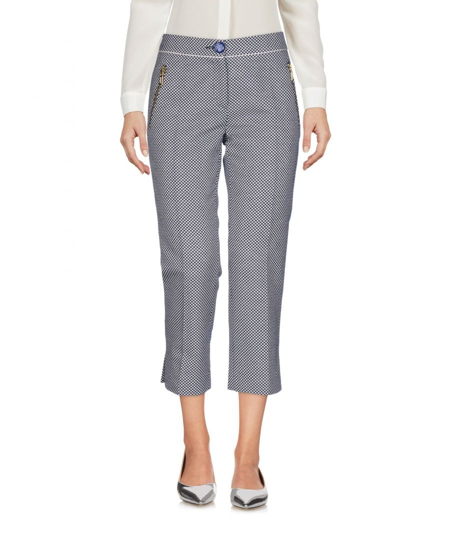 Image for Cavalli Class Cotton Tapered Leg Trousers