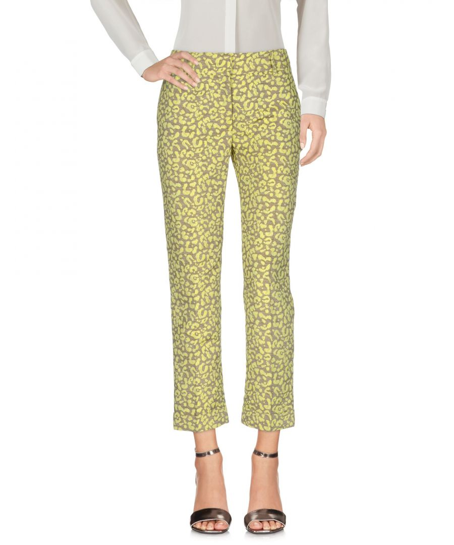 Image for Cavalli Class Pink Leopard Print Jacquard Trousers