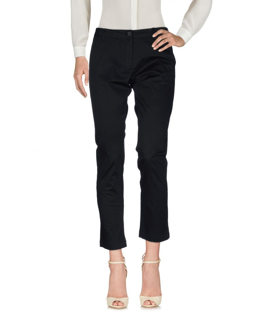 Image for Silvian Heach Black Cotton Trousers
