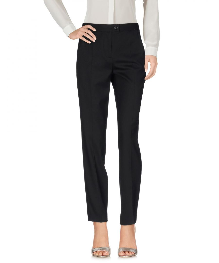 Image for Boutique Moschino Black Virgin Wool Trousers