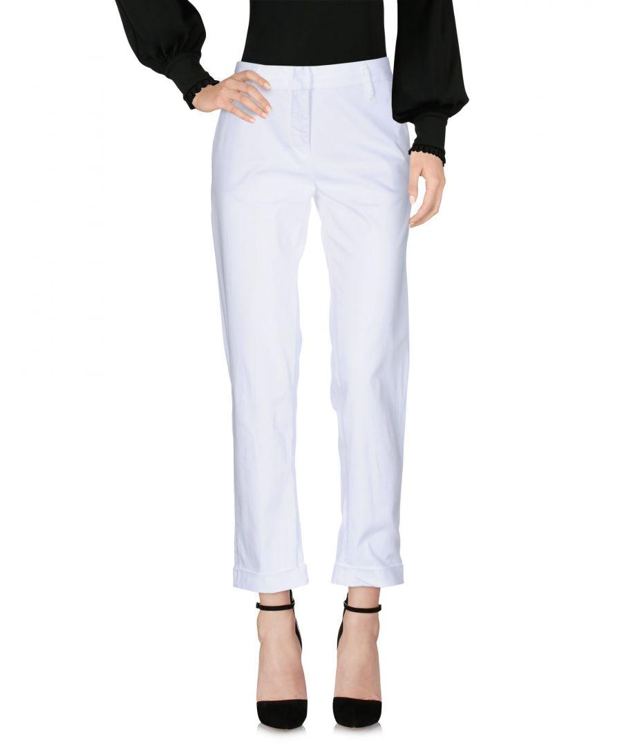 Image for Aspesi White Cotton Chino Trousers