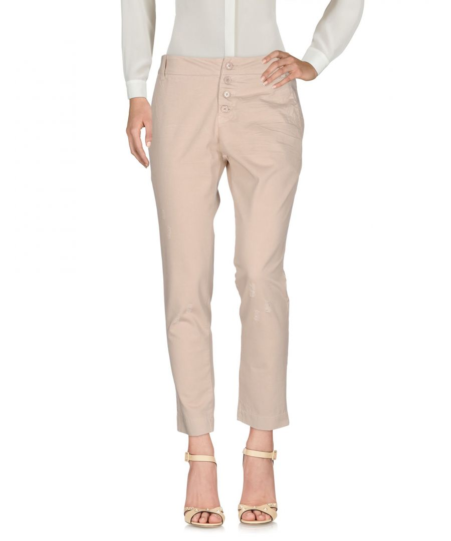 Image for Blugirl Folies Beige Cotton Trousers