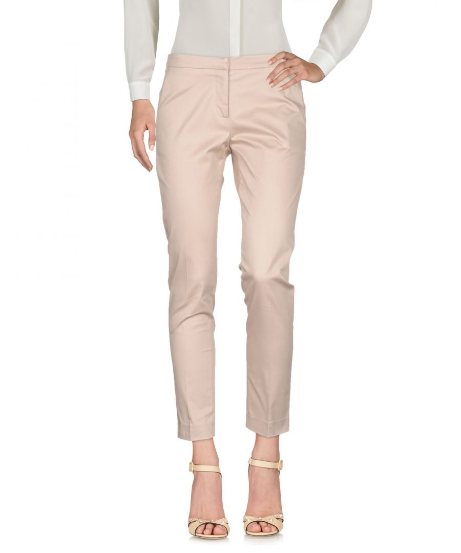 Image for TROUSERS Ki6? Who Are You? Beige Woman Cotton