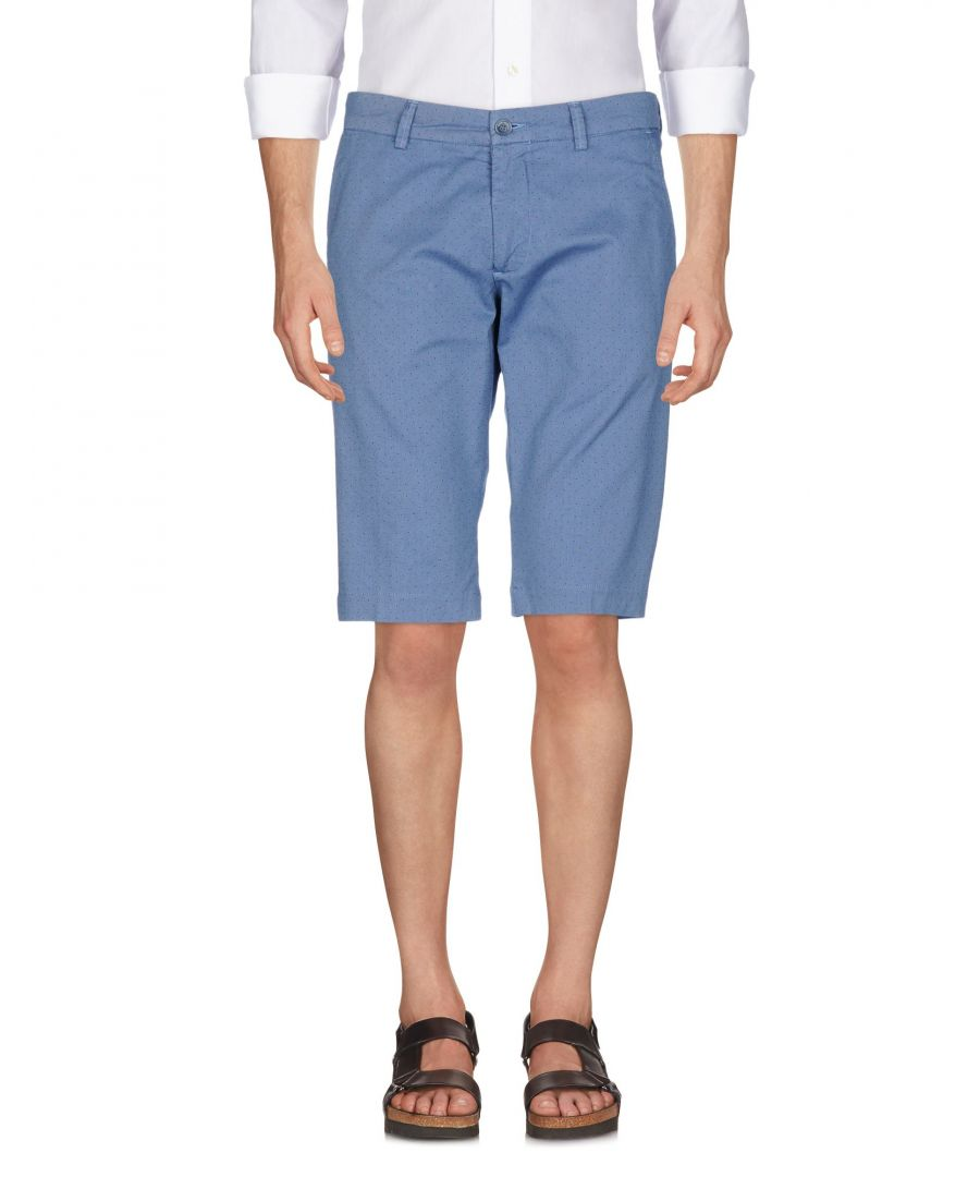Image for Rever'S Slate Blue Cotton Shorts