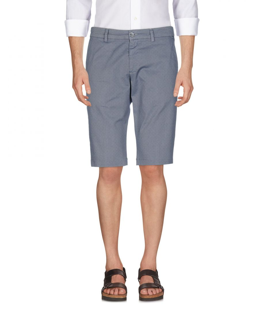 Image for Rever'S Grey Cotton Shorts