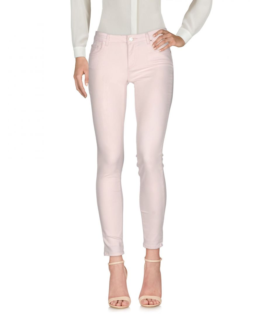 Image for Silvian Heach Light Pink Cotton Trousers