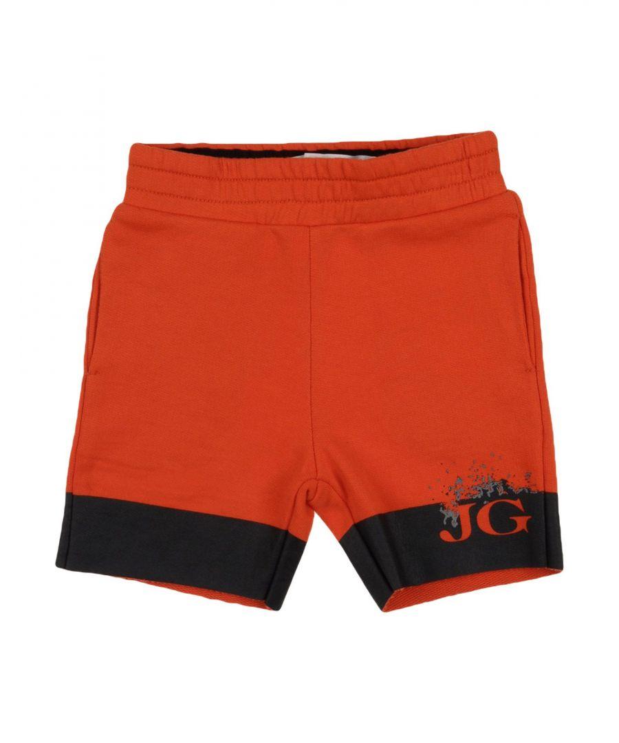 Image for John Galliano Orange Boy Cotton Shorts