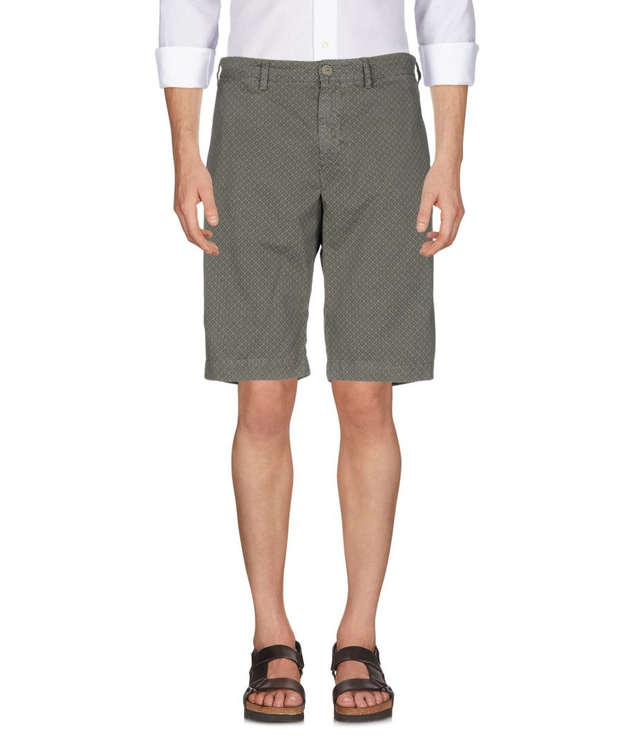 Image for 40Weft Military Green Cotton Shorts