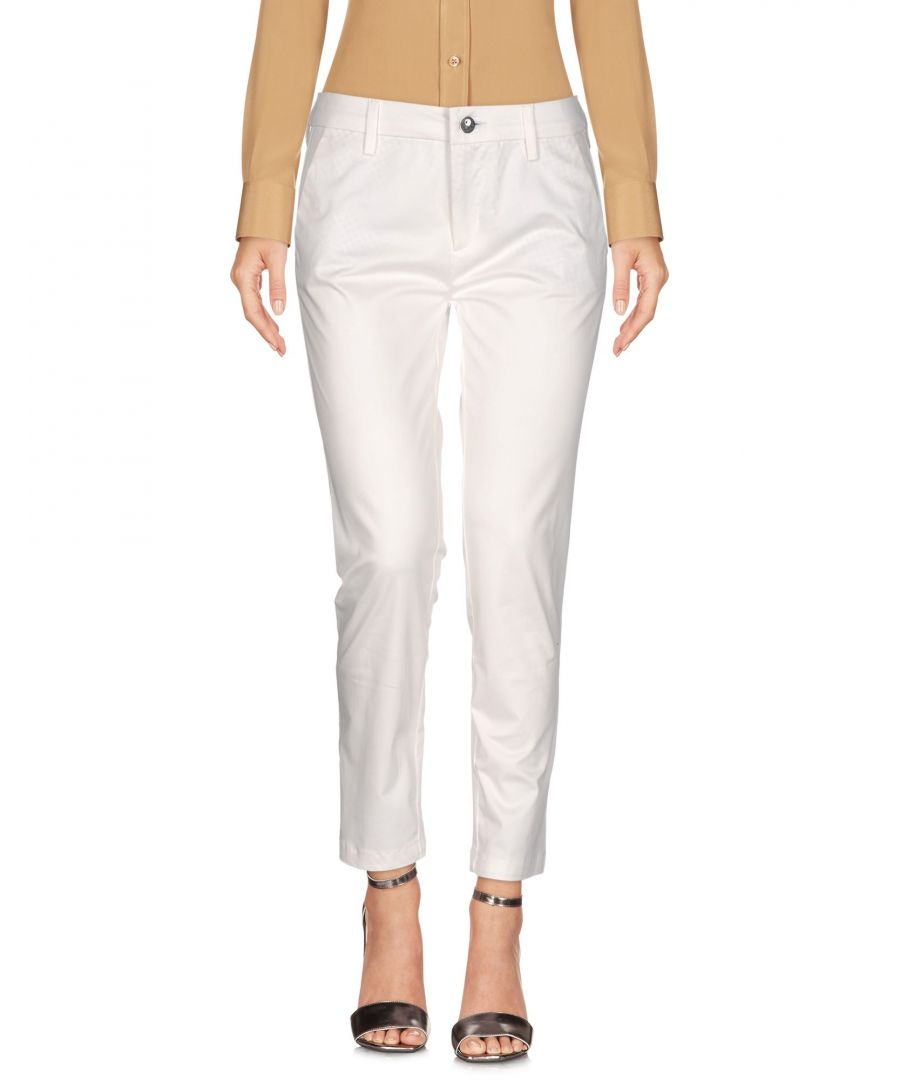 Image for TROUSERS Caf�noir White Woman Cotton