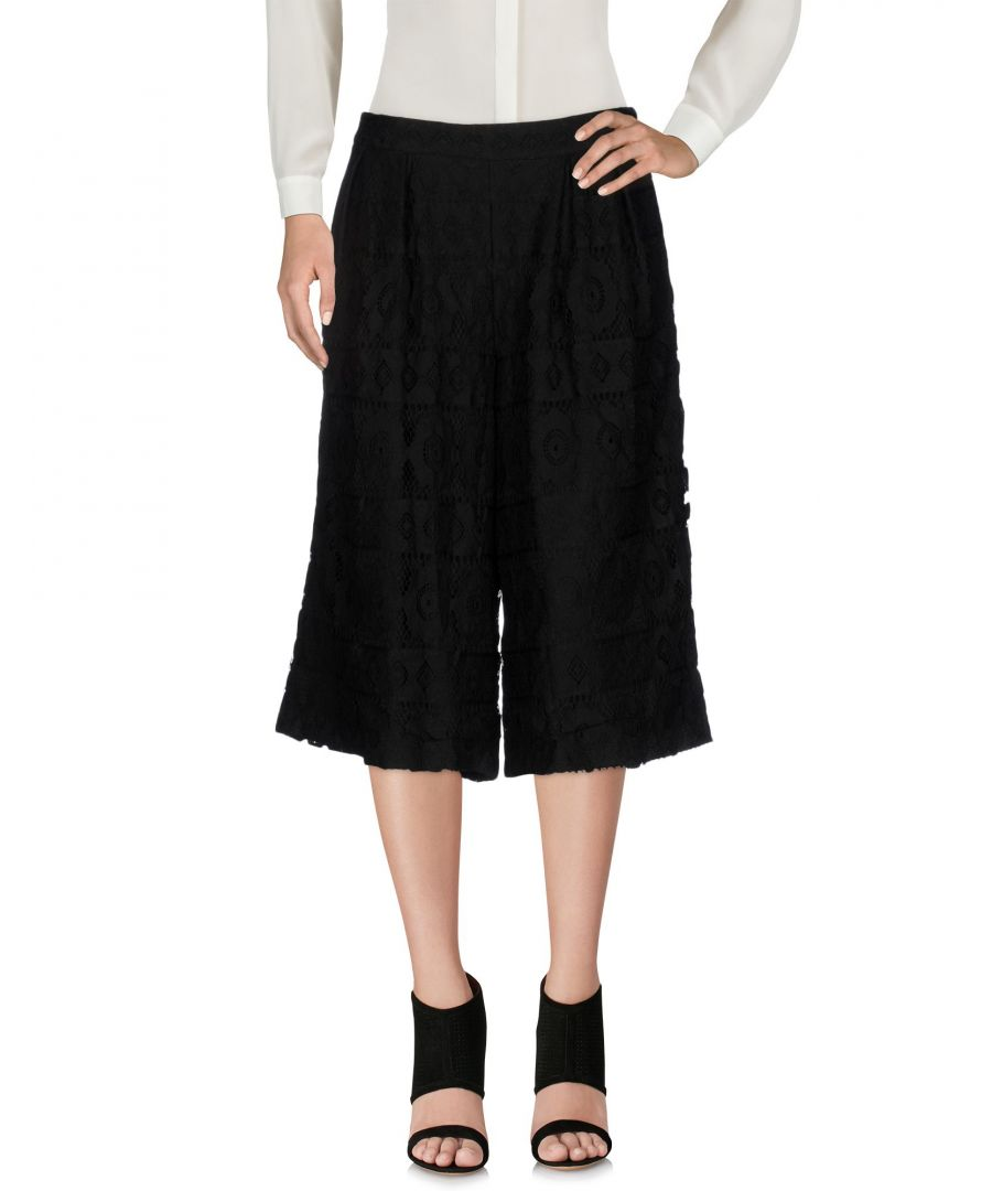 Image for Cafènoir Black Cotton 3/4-length trousers