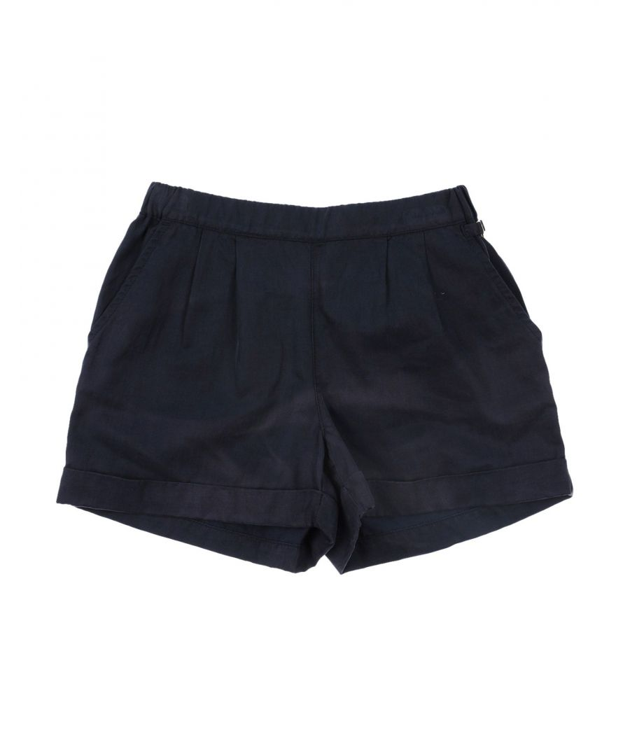 Image for Armani Junior Girls Navy Cotton Shorts