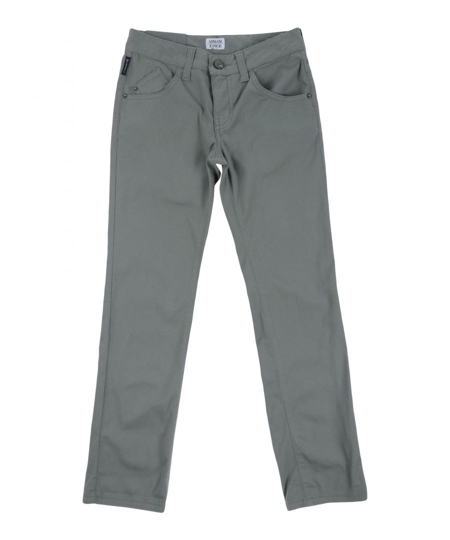 Image for TROUSERS Armani Junior Military green Boy Cotton