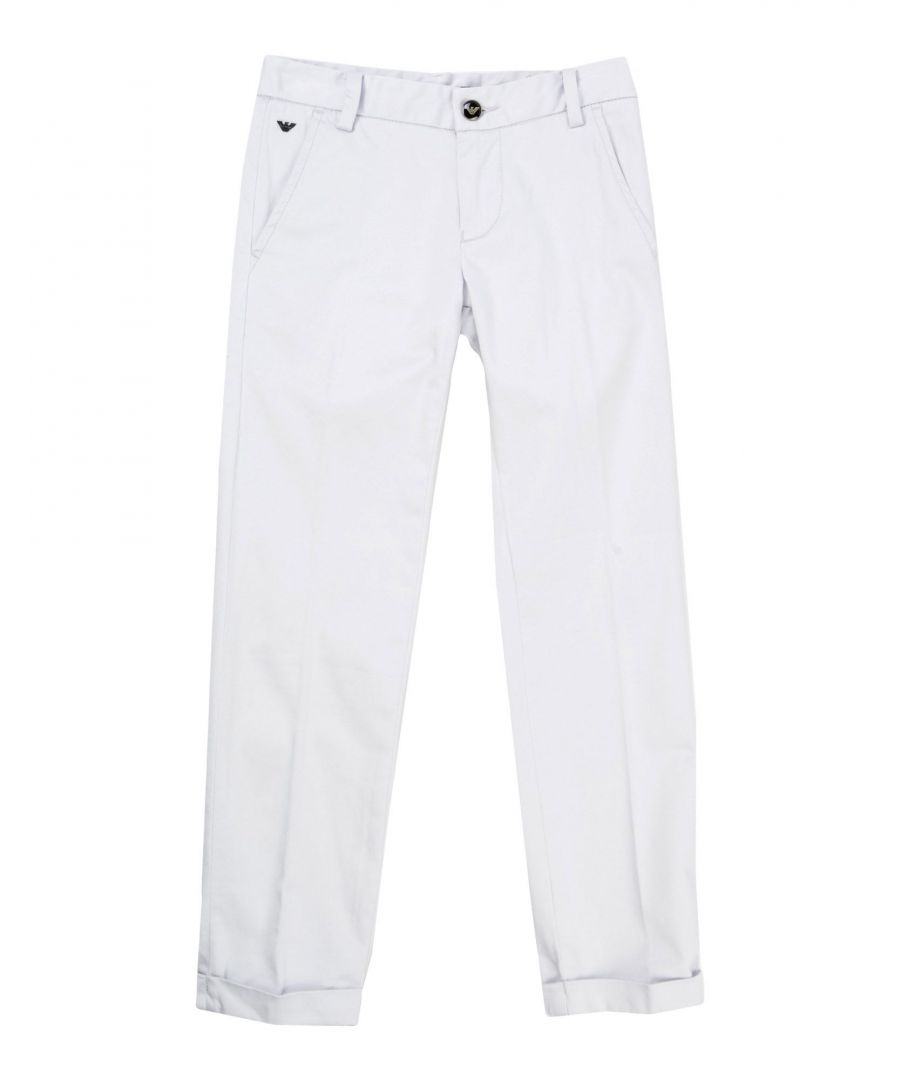 Image for Armani Junior Light grey Boy Cotton Trousers