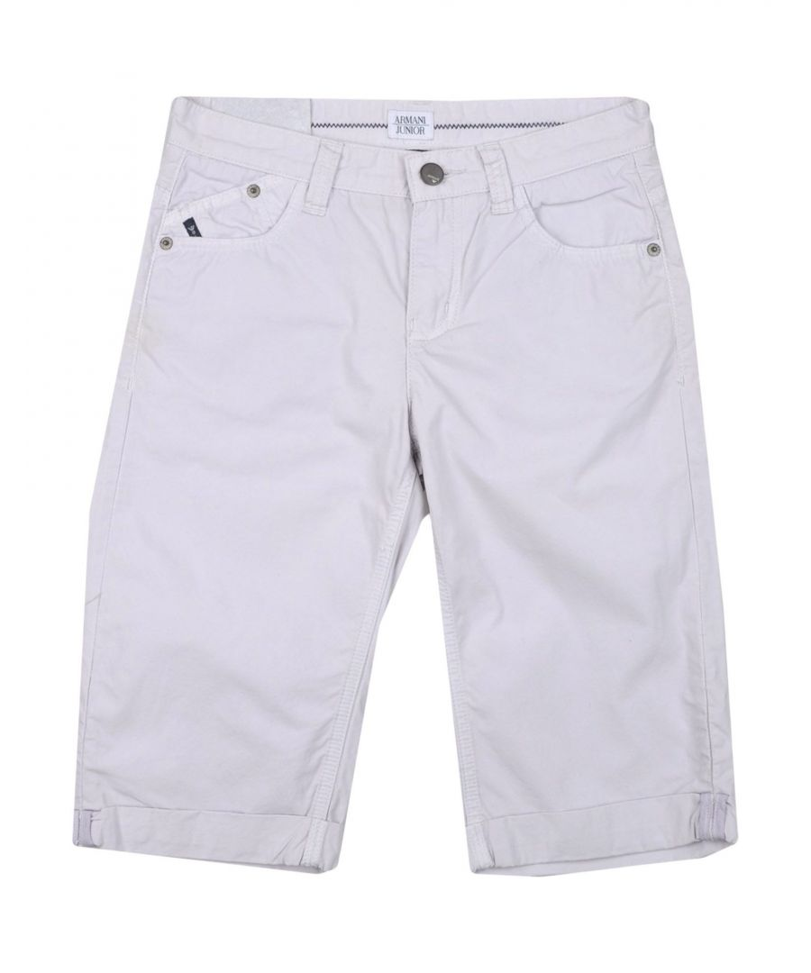 Image for TROUSERS Armani Junior Light grey Boy Cotton