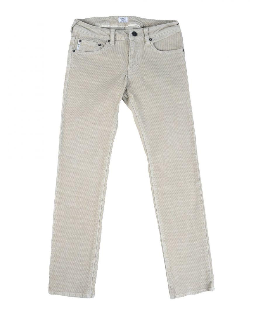 Image for Armani Junior Beige Boy Cotton Trousers
