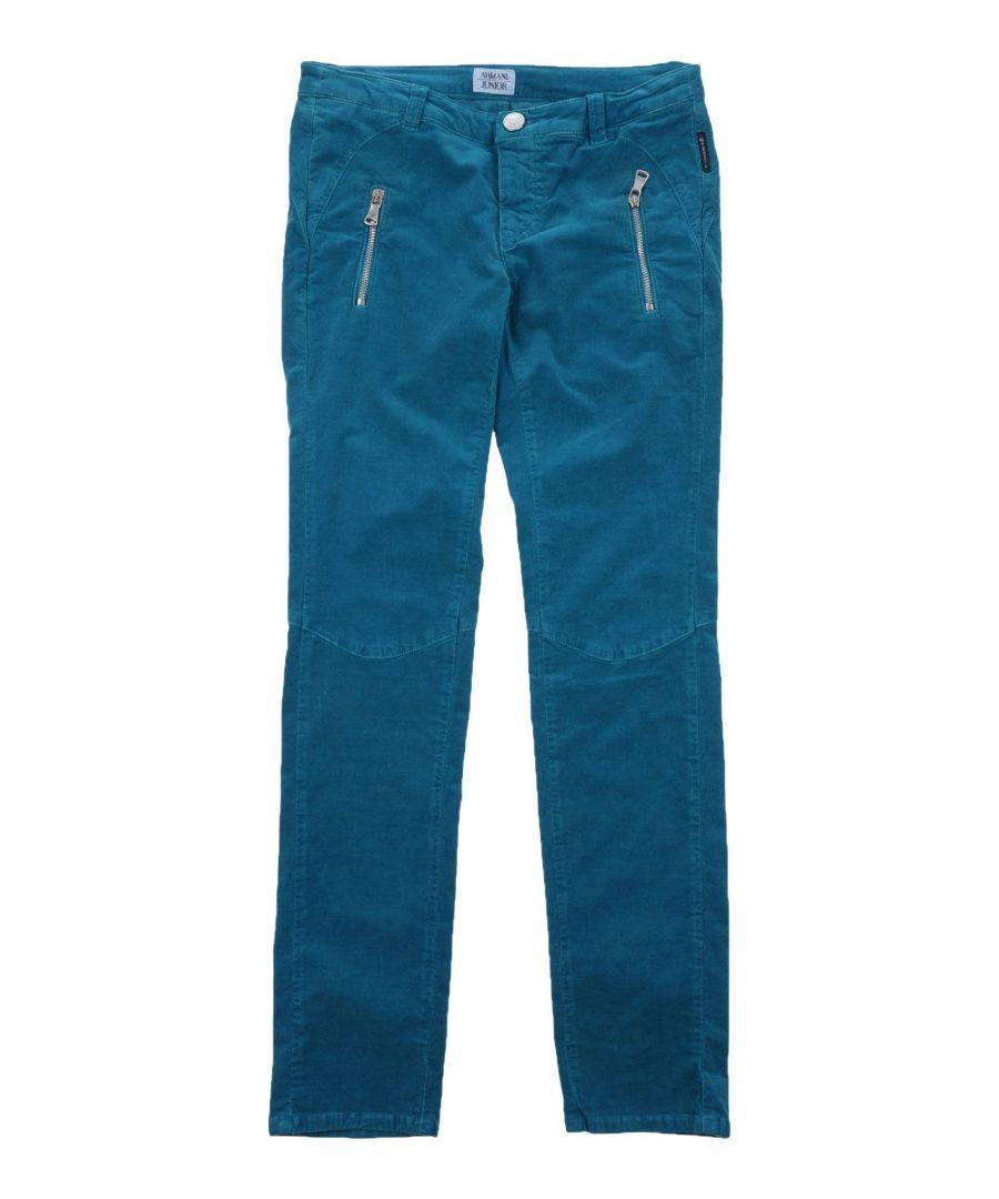 Image for TROUSERS Armani Junior Deep jade Boy Cotton