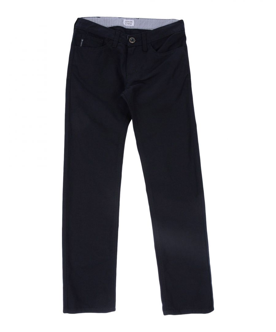 Image for TROUSERS Armani Junior Dark blue Boy Cotton